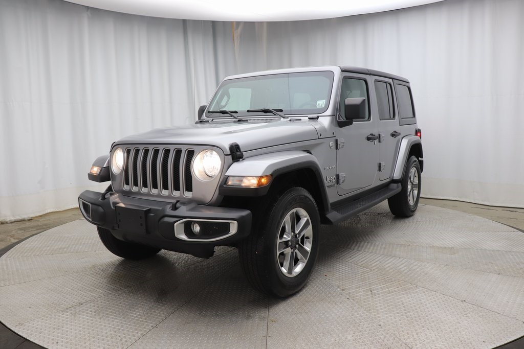 Pre-Owned 2018 Jeep Wrangler Unlimited Sahara 4x4