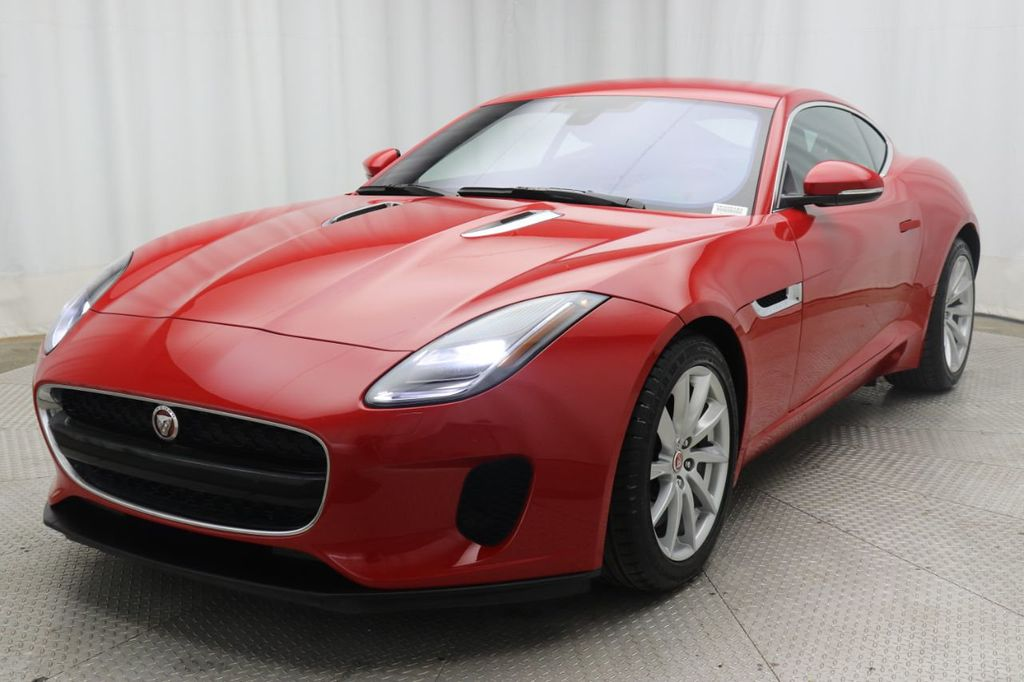 Pre-Owned 2018 Jaguar F-TYPE Coupe Automatic 340HP