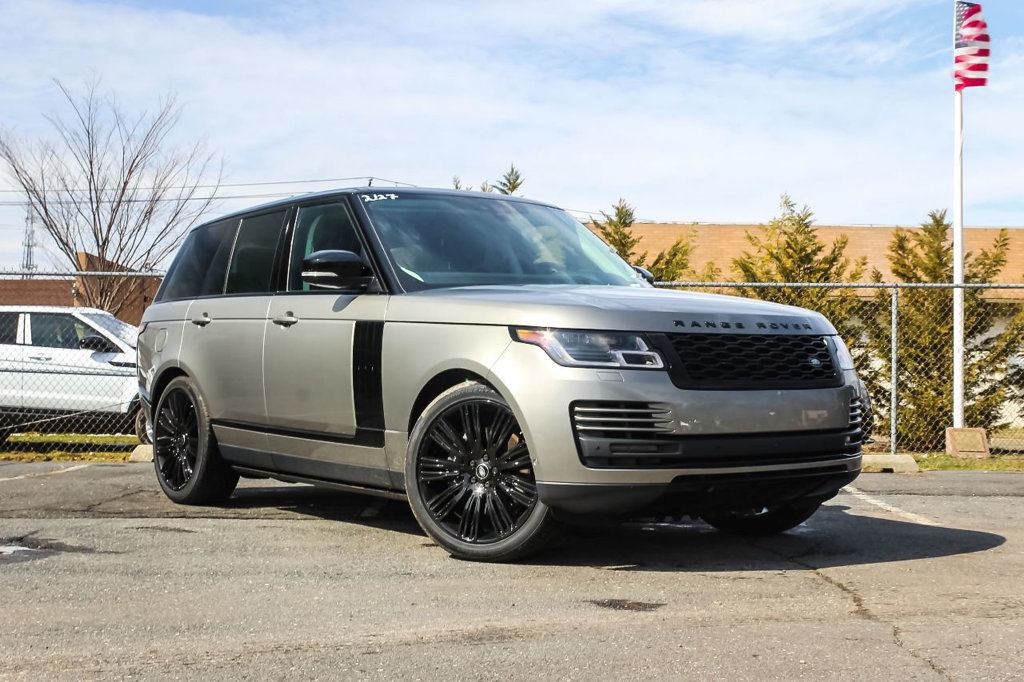 new 2018 land rover range rover v6 supercharged hse swb suv in ocean ja388147 land rover monmouth. Black Bedroom Furniture Sets. Home Design Ideas