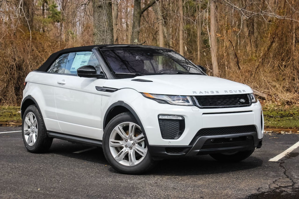 New 2018 Land Rover Range Rover Evoque Convertible HSE Dynamic SUV in Ocean #JH299504 | Land ...