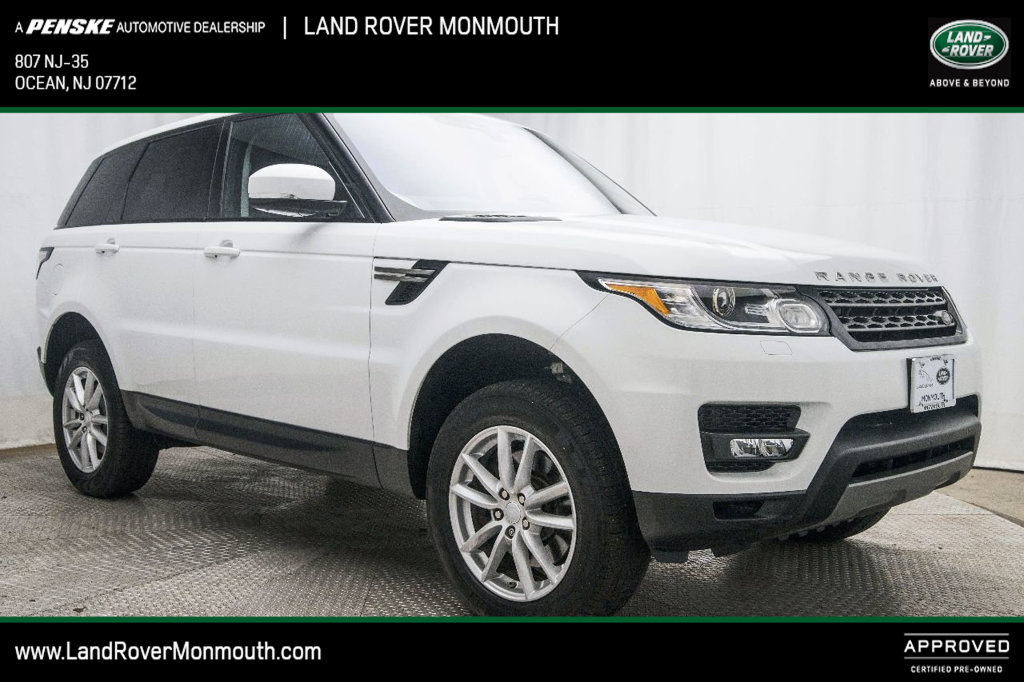 Certified Pre-Owned 2017 Land Rover Range Rover Sport V6 Supercharged SE
