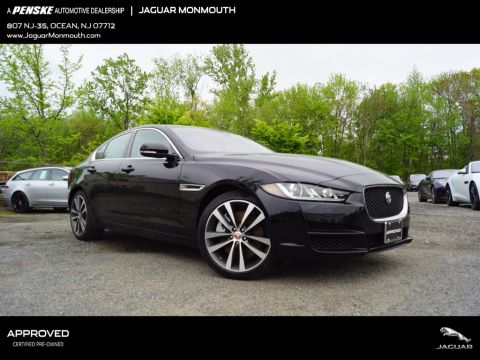 Certified Pre-Owned 2018 Jaguar XE 30t Prestige AWD