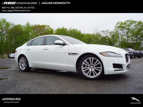 Certified Pre-Owned 2018 Jaguar XF 25t Prestige AWD