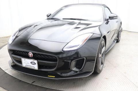 Certified Pre-Owned 2018 Jaguar F-TYPE Convertible Automatic 400 Sport AWD