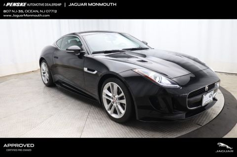 Certified Pre-Owned 2016 Jaguar F-TYPE 2dr Coupe Automatic S AWD