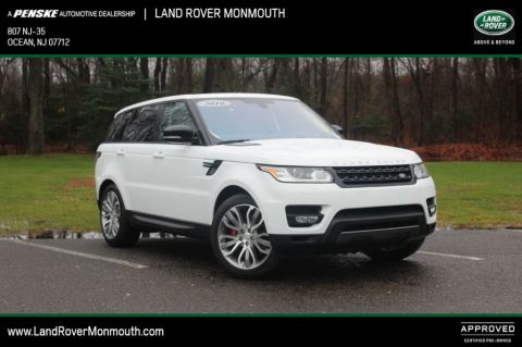 Certified Pre-Owned 2016 Land Rover Range Rover Sport 4WD 4dr V8