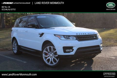 Certified Pre-Owned 2015 Land Rover Range Rover Sport 4WD 4dr Supercharged